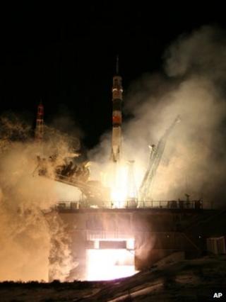 Soyuz launch 21 December
