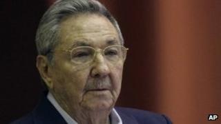 Cuban President Raul Castro. Photo: 23 December 2011