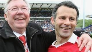 Sir Alex Ferguson a Ryan Giggs
