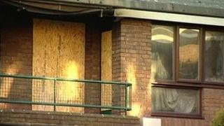 Flat off Woodborough Road in Nottingham after fire