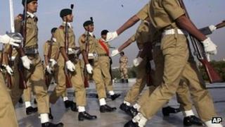 Pakistani army cadets (file photo)