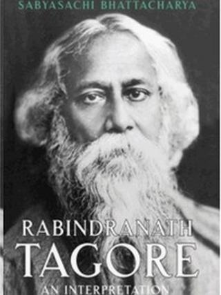 Cover of the Tagore biography