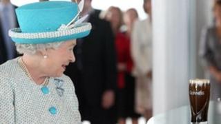 The Queen in Dublin
