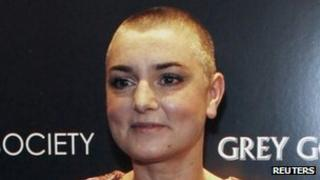 Sinead O'Connor at an event in December 2011
