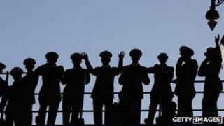 Royal Navy sailors