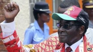 Robert Mugabe (8/12/11)