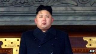 Kim Jong-un, pictured on 29 December 2011