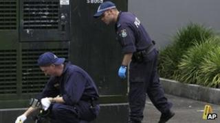 Police at Chinese consulate in Sydney