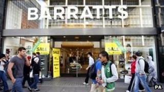 Barratts store
