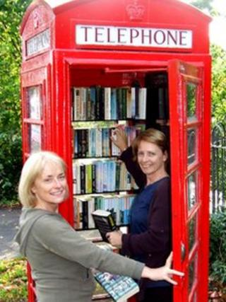 Little Eaton book exchange