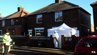 Peterlee shooting scene