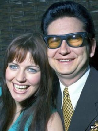 Barbara and Roy Orbison in 1969