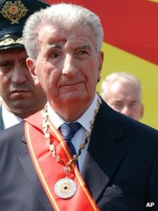 Kiro Gligorov (Sept 2005)