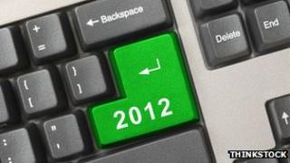 Keyboard with 2012