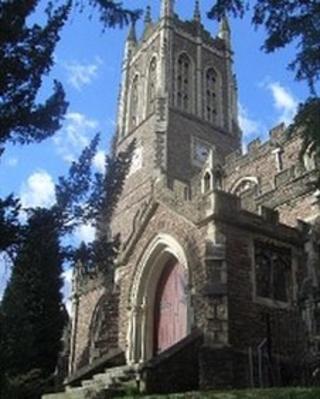 Eglwys San Marc (Llun: Cyngor Dinas Casnewydd)