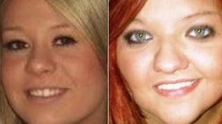 Sasha Jarvis [left] and Sian Gwenllian Davies died on New Year's Day