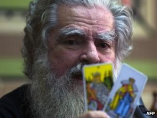 """Antonio Vazquez, aka """"Brujo Mayor"""" (3 January 2011)"""