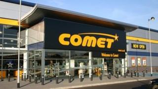 Comet superstore