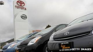 Toyota dealership in California