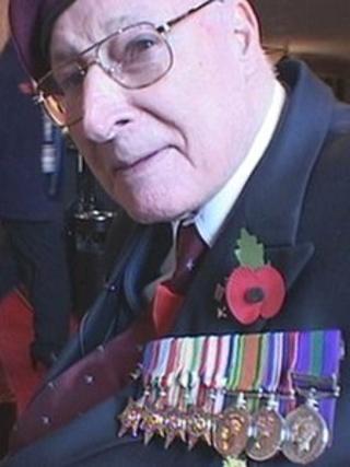 4th Battalion Parachute Regiment veteran Peter Matthews