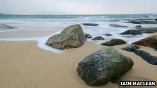 A beach on Harris. Pic: Iain Maclean
