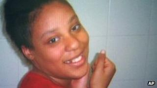 Jakadrien Lorece Turner in an undated file photo from WFAA-TV