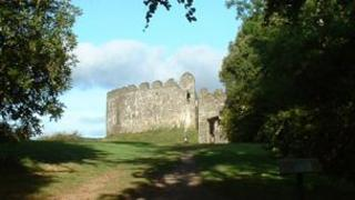 Restormel Castle in Lostwithiel. Pic: John Daniel