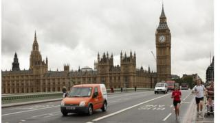 TNT delivery van in London, file pic courtesy of TNT