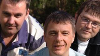 Dylan Llewelyn, Dylan Jones a Gary Prichard