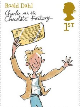 Stamp Charlie and the Chocolate Factory