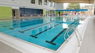 Swimming pool at Horley Leisure Centre
