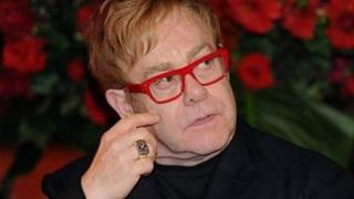 Sir Elton John attends the World Aids Day event in Sydney on 1 December