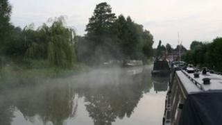 The Oxford Canal in the Cherwell Valley