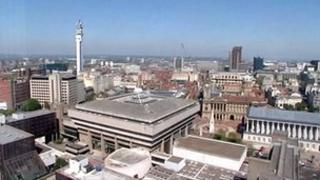 Birmingham panorama