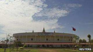 The court supposed to be used by the UN-backed tribunal in Cambodia