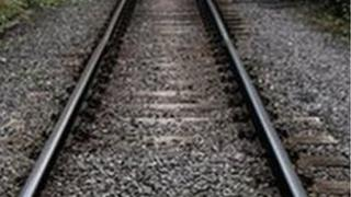 Single-track railway line