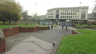 The Bearpit in Bristol city centre