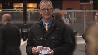 Brian Paddick at Victoria Station