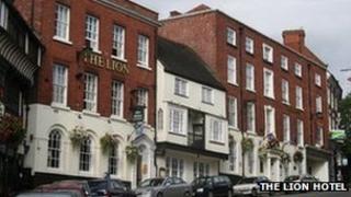 Exterior of the Lion Hotel, Shrewsbury. Photo: Lion Hotel