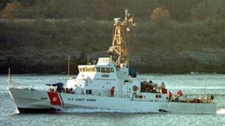 File photo of US Coast Guard cutter Monomoy