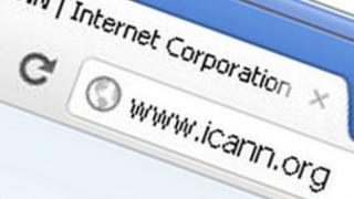Icann web page