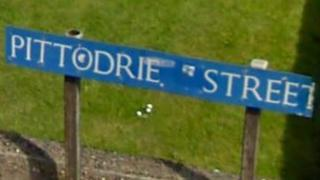 Pittodrie Street [Pic: Google Street View]