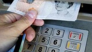 Bank cash dispenser