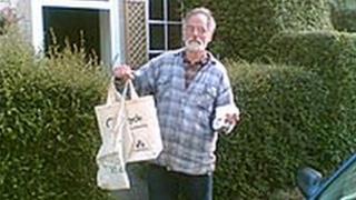 Stroud's mayor, John Marjoram