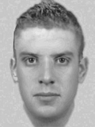 Police impression of the man