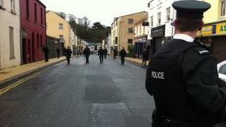PSNI officers at scene