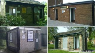Former toilets in Stockport