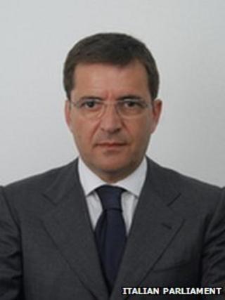 Nicola Cosentino (image from Italian parliament's website)