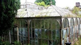 Wentworth Castle glasshouse