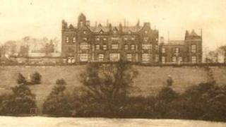 Worsley Hall in Salford